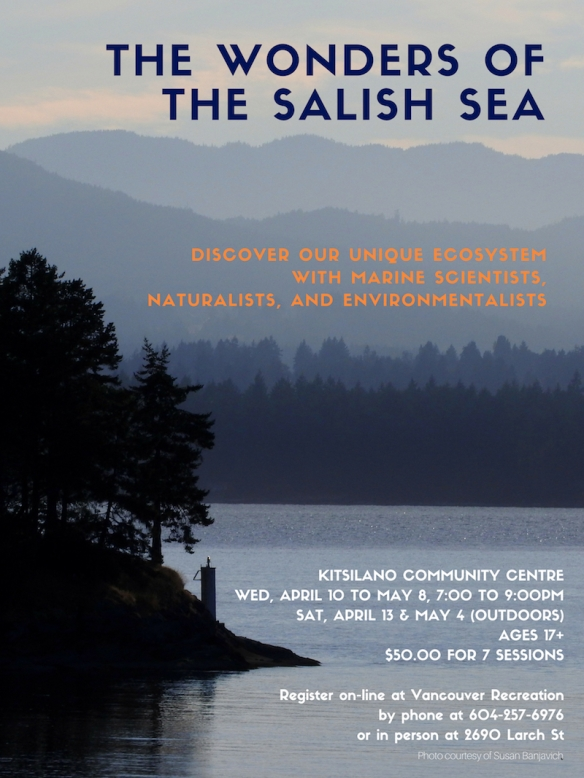 Wonders of the Salish Sea poster 2019